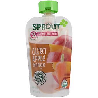 Sprout Baby Fd Crrt Appl Mngo, Case of 6 X 3.5 Oz