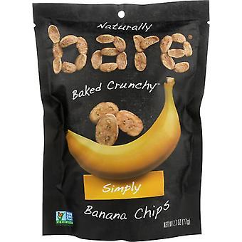 Paljas hedelmälastu banaani Smply Bkd, kotelo 12 X 2,7 Oz