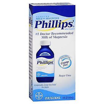 Bayer Bayer Phillips Milk Of Magnesia Saline Laxative, Original 4 oz