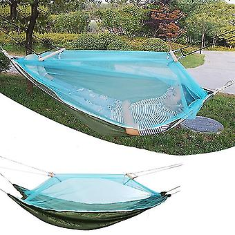 Hammock Outdoor Camping Swing Bed Portable Sleeping Bed Max Load 150kg With Mosquito Net