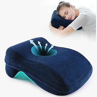 Memory Foam Nap Pillow For Travel Headrest Neck Support Cushions Office Rest Lunch Break Pillow