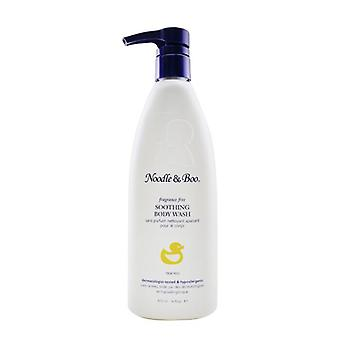 Noodle & Boo Soothing Body Wash - Fragrance Free (Dermatologist-Tested & Hypoallergenic) 473ml/16oz