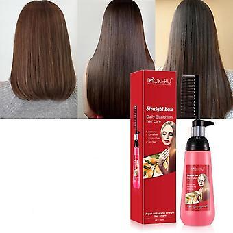 الشعر السلس استقامة تغذية كريم الشعر المستقيم