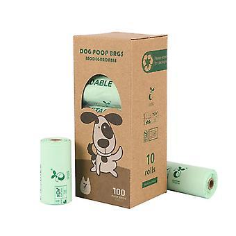 トウモロコシスターチプラ生分解性ペットゴミ袋堆肥連続ロールベストバッグ犬スツールバッグスツールバッグバッグ