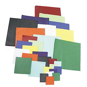 1440 Assorted Colour and Size Tissue Paper Squares Pack