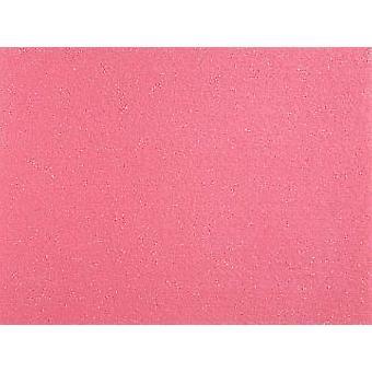 Stor A3 Mid Pink Stivnet Filt Ark for Håndverk