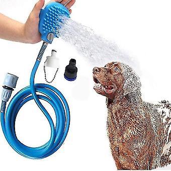 Pet Kúpací nástroj Sprchový sprej Masáž Práčka Nastaviteľné ručné starostlivosť o srsť