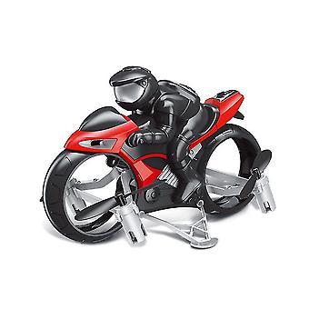 RC Motorsykkel Drone Leker Med 360 Graders Rotasjon Drift Elektrisk Motorsykkel For Barn (Rød)
