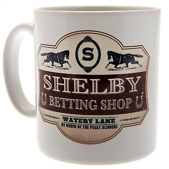 Peaky Blinders Mug Betting Shop Official Licensed Product