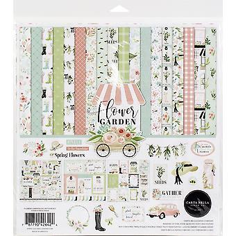 """Carta Bella Collection Kit 12""""X12"""" - Kukka puutarha"""