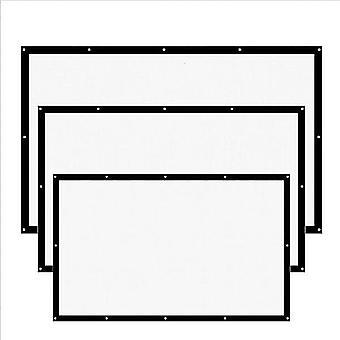 16:9 Proiector Ecran-3d Hd Home Theater Perete Mat