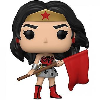 Wonder Woman 80th (Superman: Red Son Variant) Funko Pop! Vinyl Figure