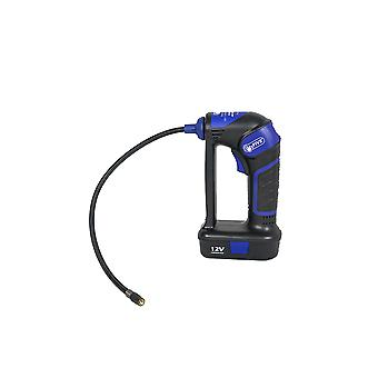 Hyfive digital cordless rechargeable air compressor tyre inflator pump 12v portable