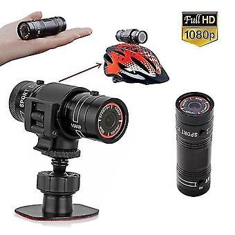 Sport dv câmera 1080p impermeável hd mini metal capacete ao ar livre câmera moto moto capacete ação