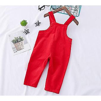 Baby Velvet tricotate Salopete Pantaloni - Toddler Soft Jumpsuit