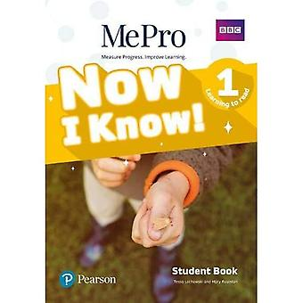 Now I Know MePro Level 1 (Learning To Read) Student Book with Online Practice Pack (Now I Know)
