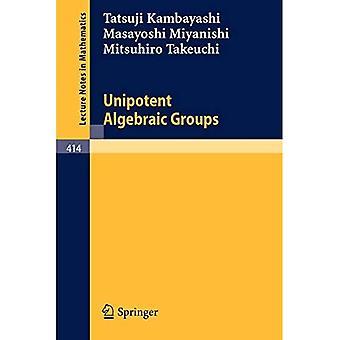 Unipotent Algebraic Groups