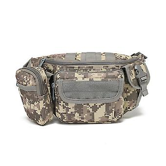 Camouflage Messenger Bag Outdoor Sports Multifunctional Tool One Shoulder Tactical Waist Bag
