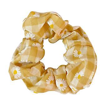 Accessoires de cheveux Tête Corde Cravate Cheveux Élastique Gros Intestin Cheveux Anneau tempérament Vent 6pcs