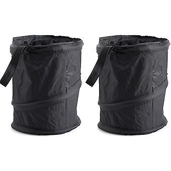 Bilduk soppåse kan vikas och enkelt rengöras (två stycken)