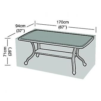 6 Seater Rectangular Table Seater Waterproof Polyethylene
