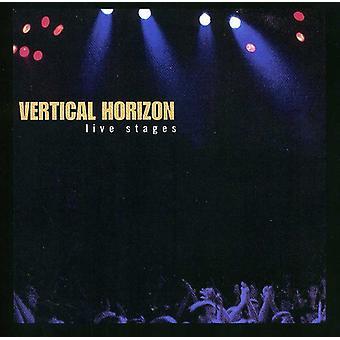 Horizonte vertical - importar de USA vivo etapas [CD]