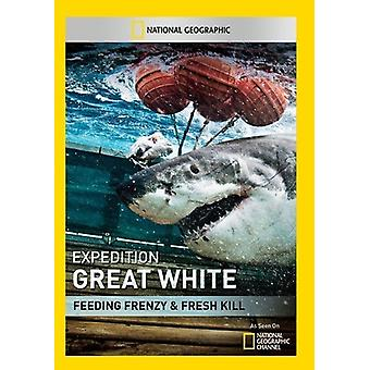 Expedition Great White: Feeding Frenzy [DVD] USA import