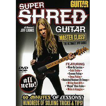 Guitar World: Super Shred Guitar Masterclass [DVD] USA import