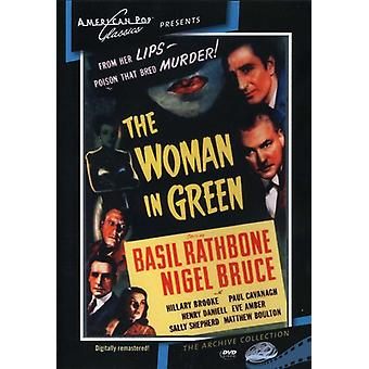 Sherlock Holmes: The Woman in Green (1945) [DVD] USA import