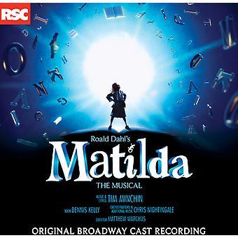 Original Broadway Cast - Matilda: The Musical [Original Broadway Cast] [CD] USA import