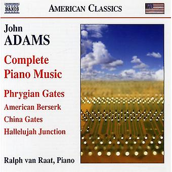 J. Adams - John Adams: Complete Piano Music [CD] USA import