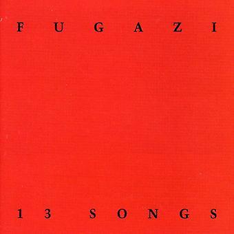 Fugazi - 13 Songs [CD] USA import