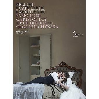 I Capuleti E I Montecchi [DVD] USA importeren