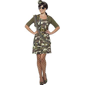Costume de militaire combat cadets dames jeune fille militaire soldat pièce 5