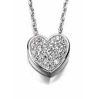 925 Silver Heart Necklace Necklace