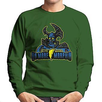 No More Morphin Matacore Power Rangers Men's Sweatshirt