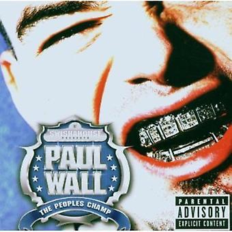 ポールの壁 - 人々 のチャンピオン [CD] USA 輸入