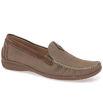 Gabor California 66.090 Navy/Tan Shoe