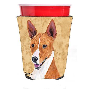Carolines Treasures  SC9124RSC Basenji Red Solo Cup Beverage Insulator Hugger