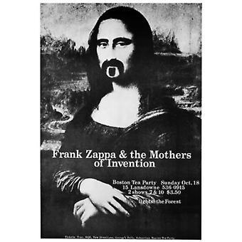 Frank Zappa Mona Lisa plakat plakat Print