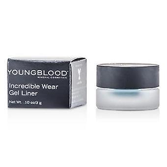 Youngblood Incredible Wear Gel Liner - # Lagoon - 3g/0.1oz