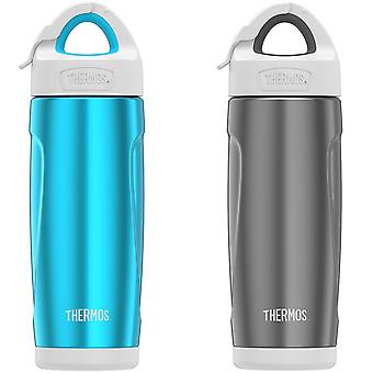 Thermos 18 oz. Insulated Stainless Steel Sport Water Bottle with Covered Straw