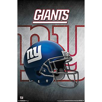 New York Giants - kask 16 Poster Print