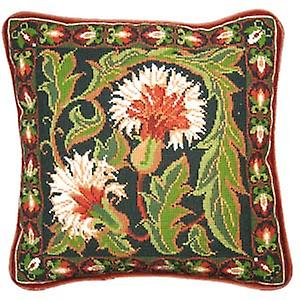 Autumn Carnation Needlepoint Canvas