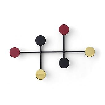 Menu Afteroom Coat Hanger/Coat Rack - Black/Brass