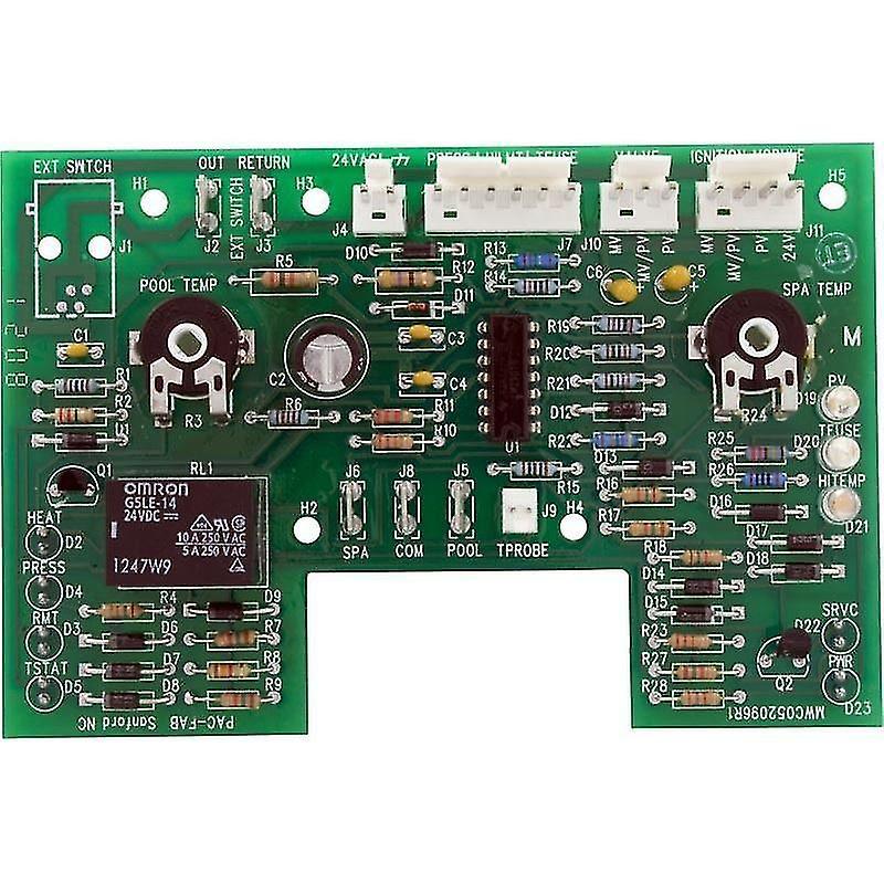 Pentair 470179 elektroniske termostaten kretskortet erstatning Pool Varmeovn