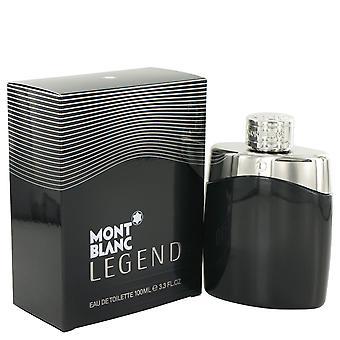 Mont Blanc legende Eau de Toilette 100ml EDT Spray