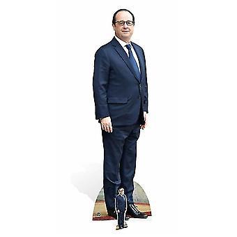 Francois Hollande Life-sized kartong släppandet