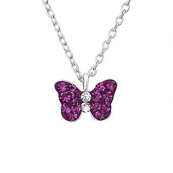 Butterfly - 925 Sterling Silver Necklaces - W37605x