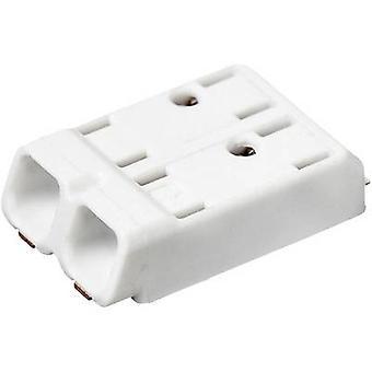 Terminal Adels-kontakt SMDflat 345/2 Spring-loaded 0,75 mm² liczbę pinów 2 biały 1 szt.